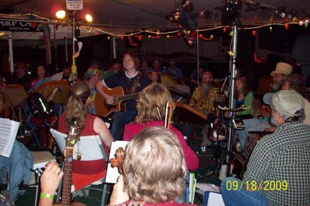 Carp Camp, Walnut Valley Festival, Winfield KS, 2009