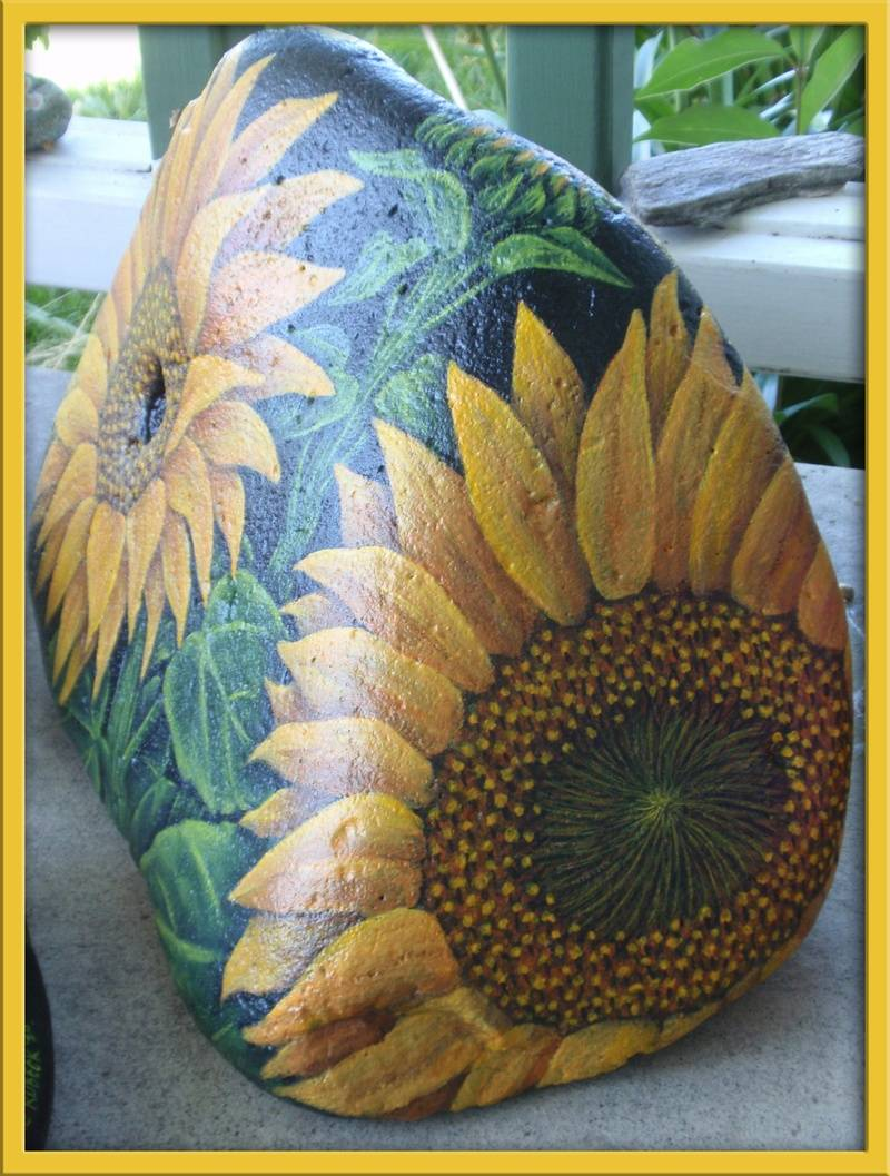 Sunflower - Side View
