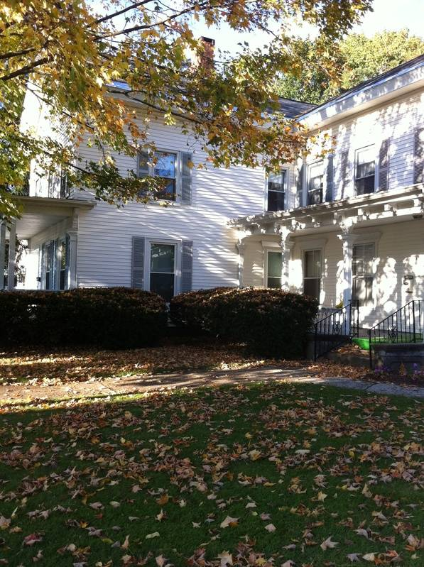 Fall Picture of Garfield House