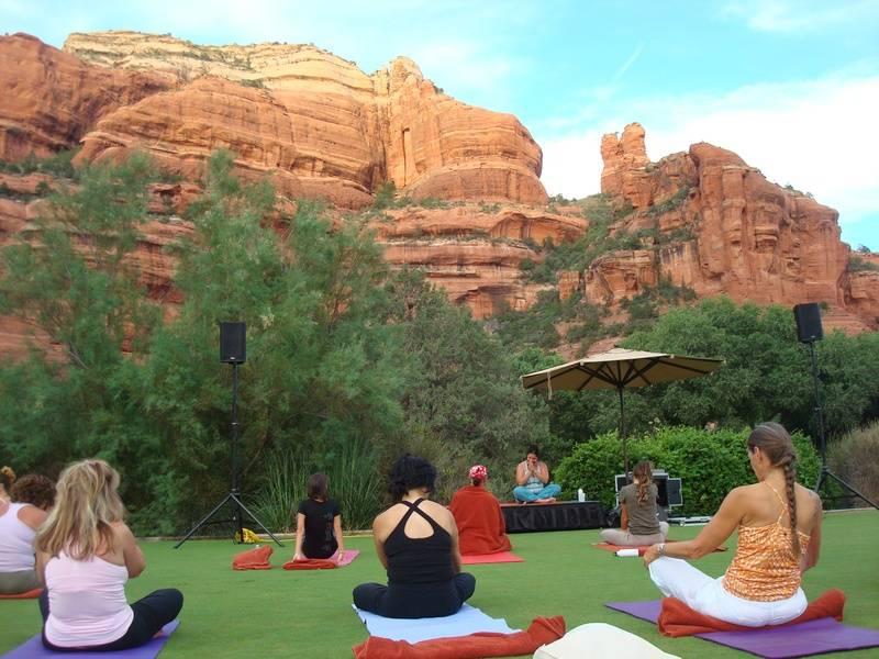Outdoor Morning Meditation
