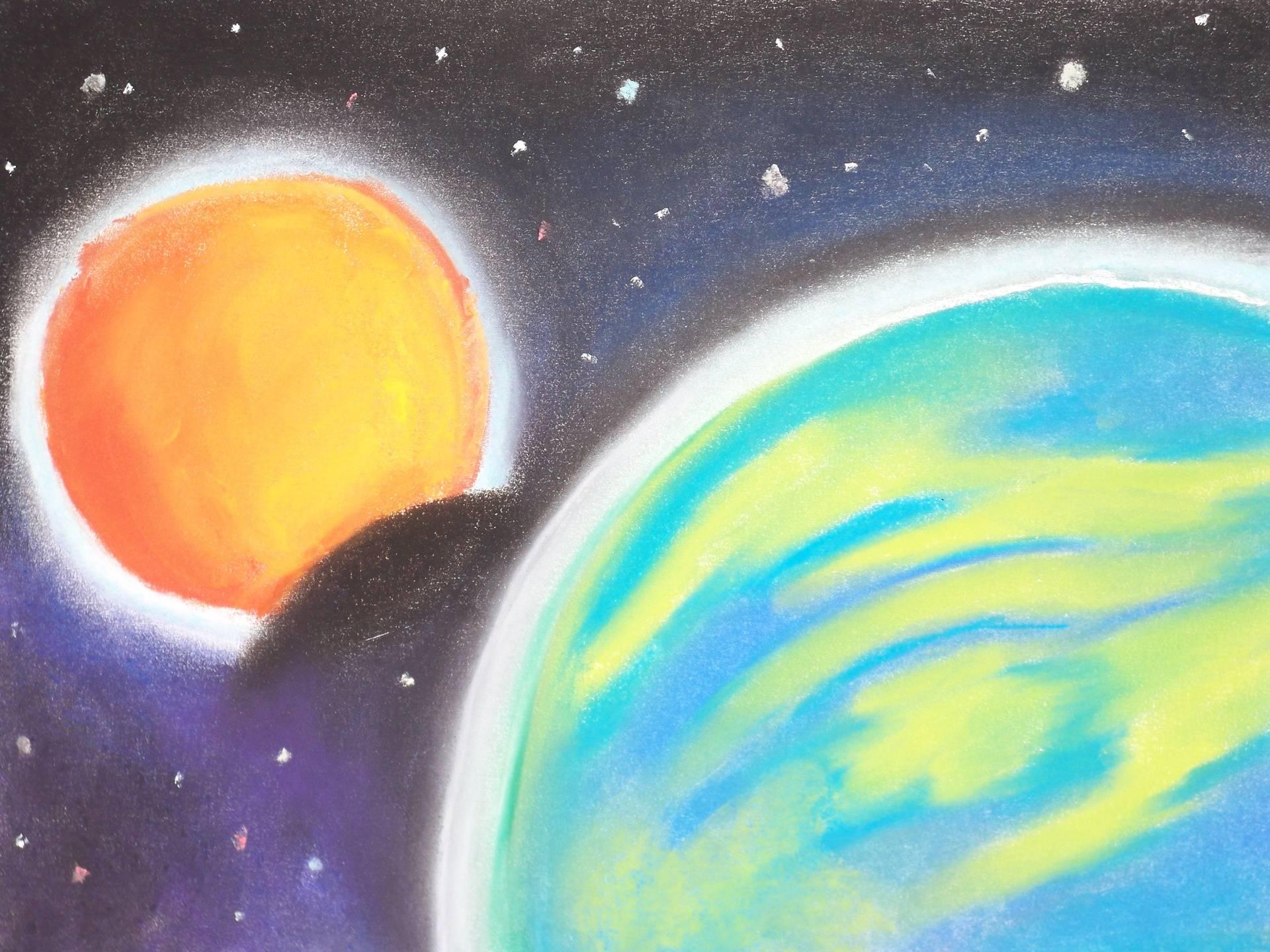 Desert Moon Eclipse