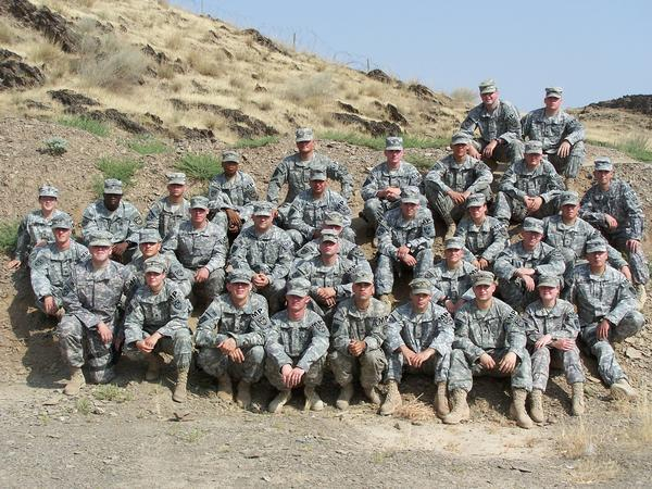 527th in Afghanistan