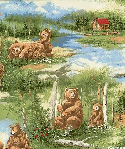 Bear Mountain - 10  (COTTON)