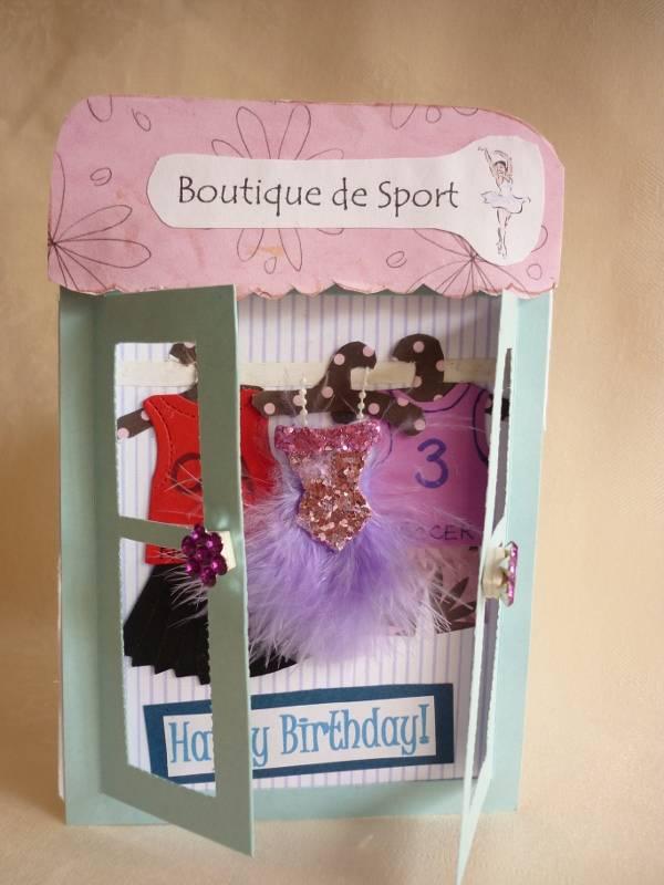 Boutique Brithday Card