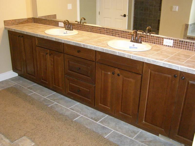 Vanity cabinet installations