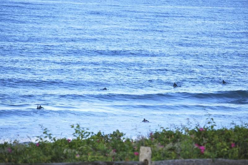 Surfers at Coast Guard Beach