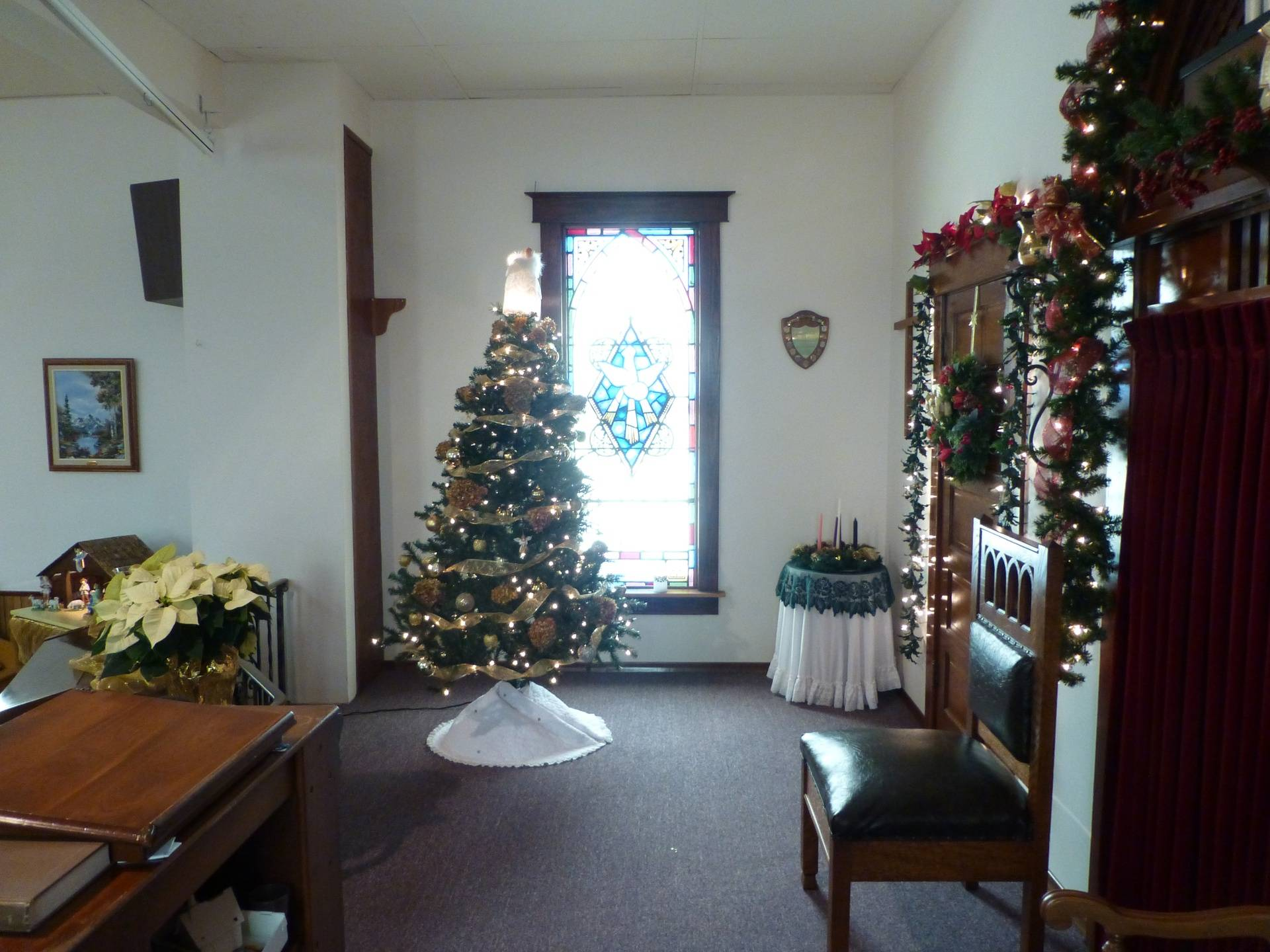 Church Christmas Tree