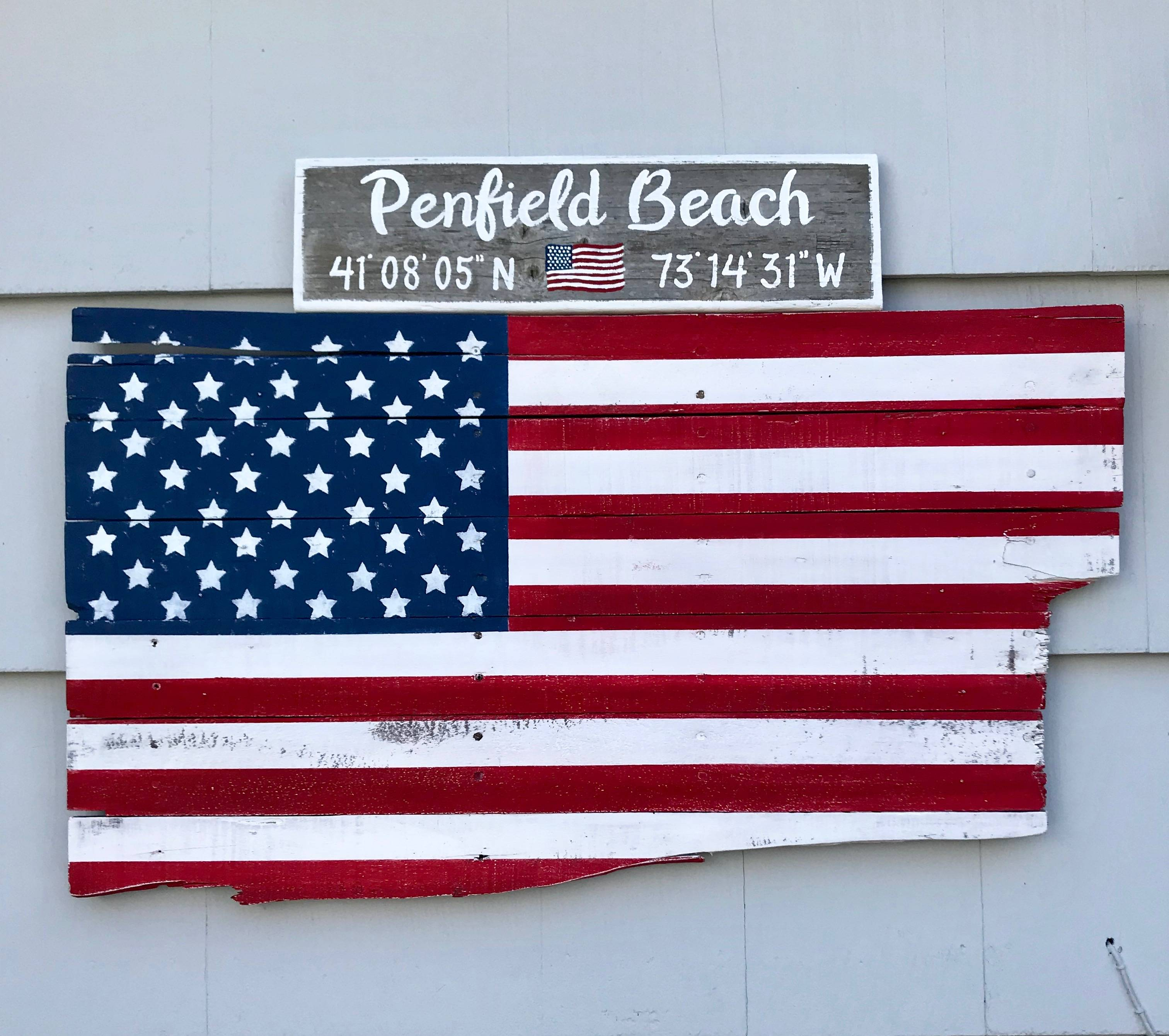 Beach name with lat/long