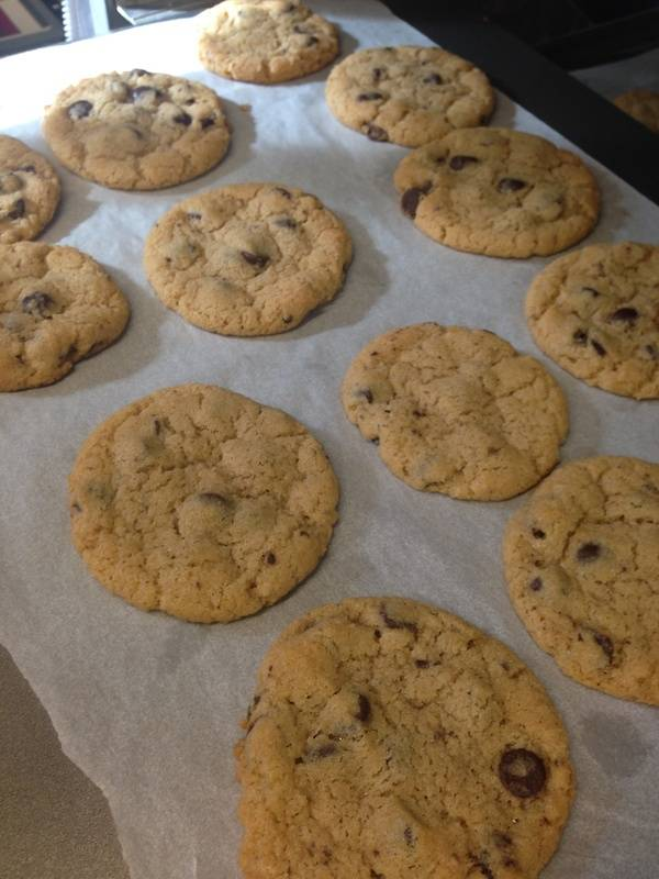 Gluten Free Chocolate Chip Cookes