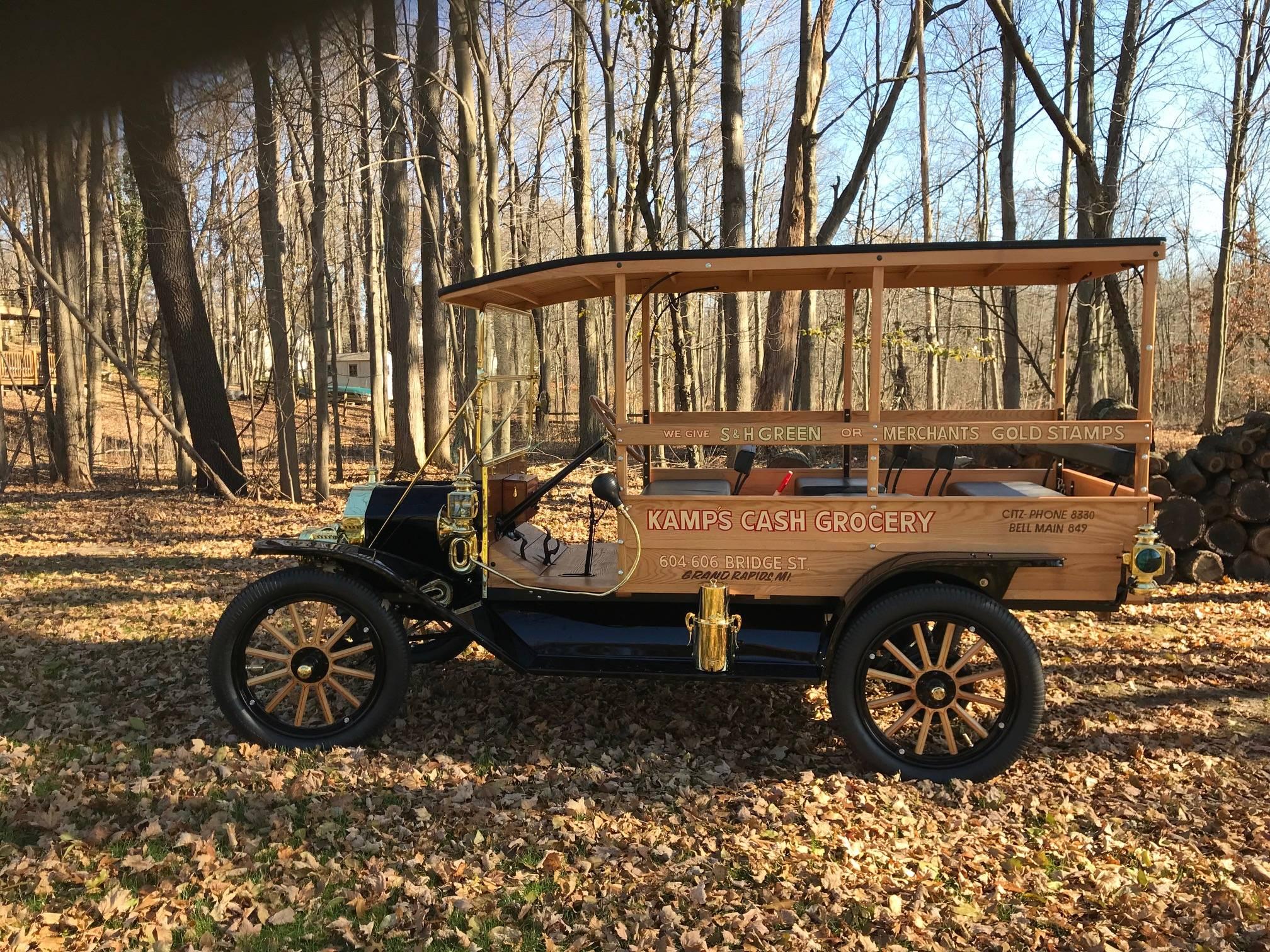 Beautiful 1912 chassis.