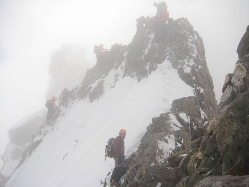 Piz Bernina Summit Traverse