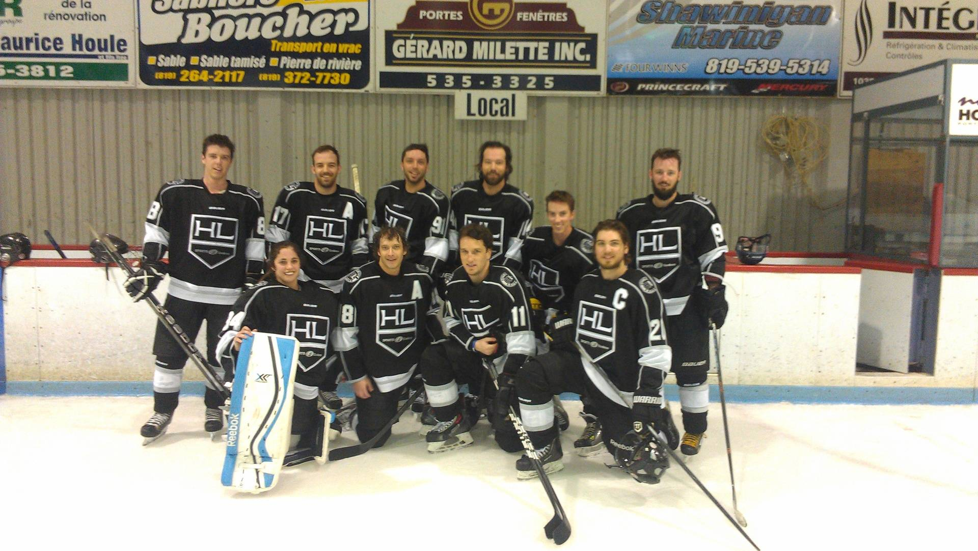 2e position pour Hockey Lemay