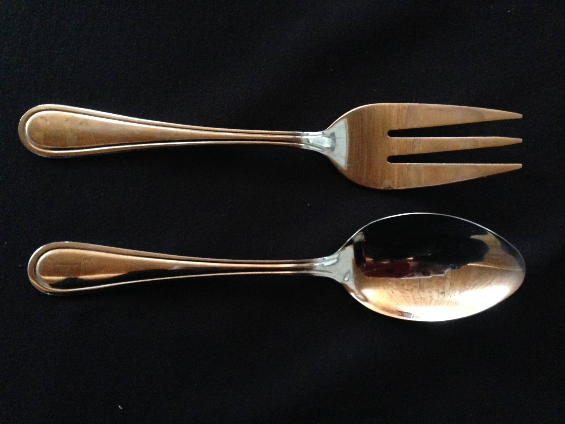Concord Serving Fork and Spoon