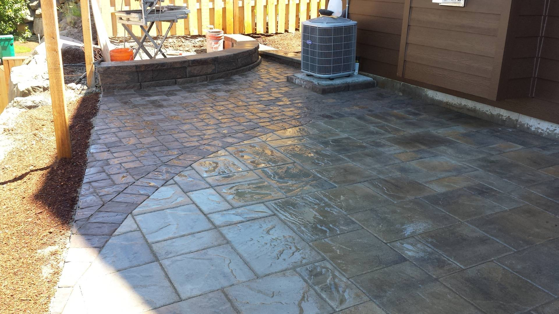 Paver Patio Installation, Forest Grove