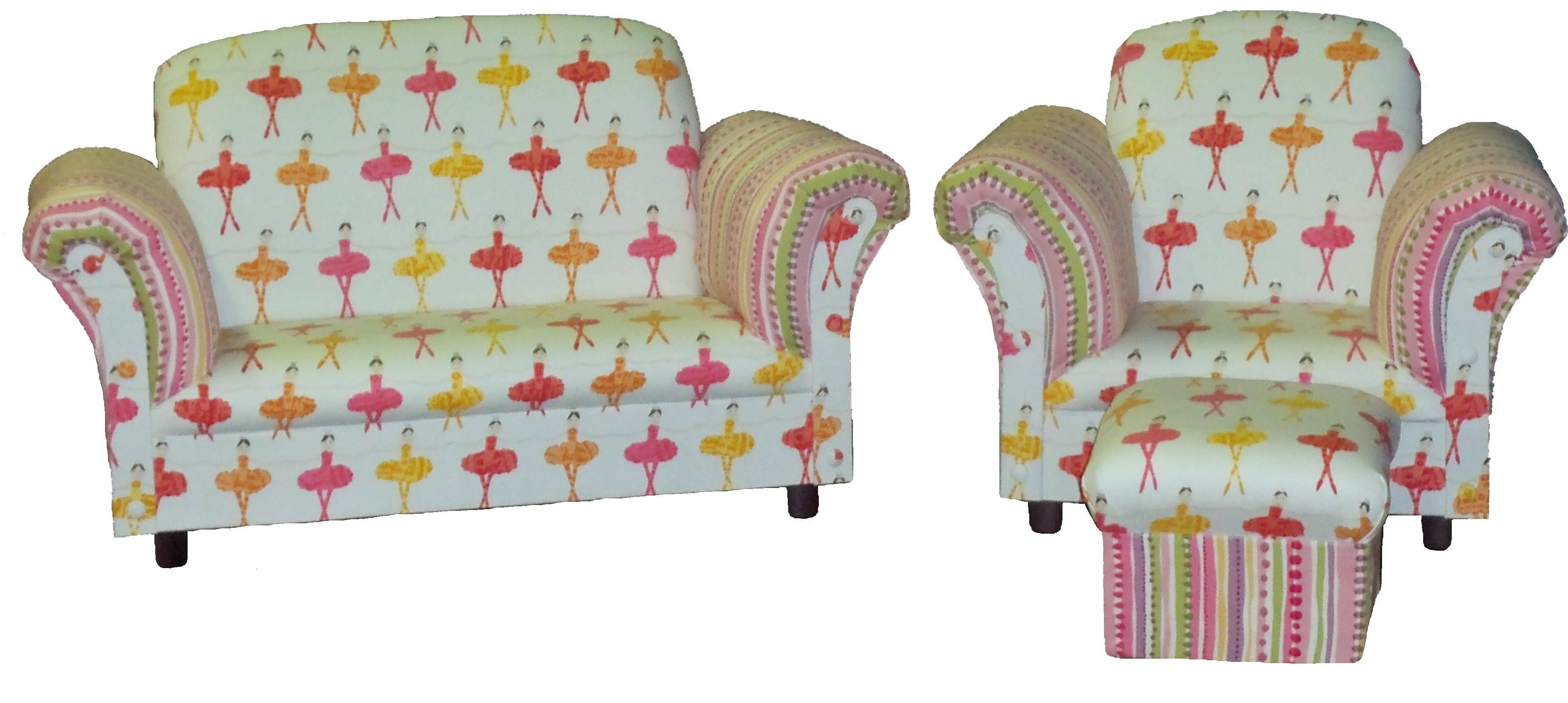 Little Kids Love, Chair & Ottoman