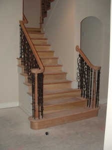 Cherry wood Staircase