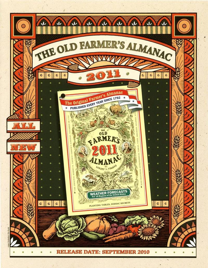 Design for Old Farmer's Almanac
