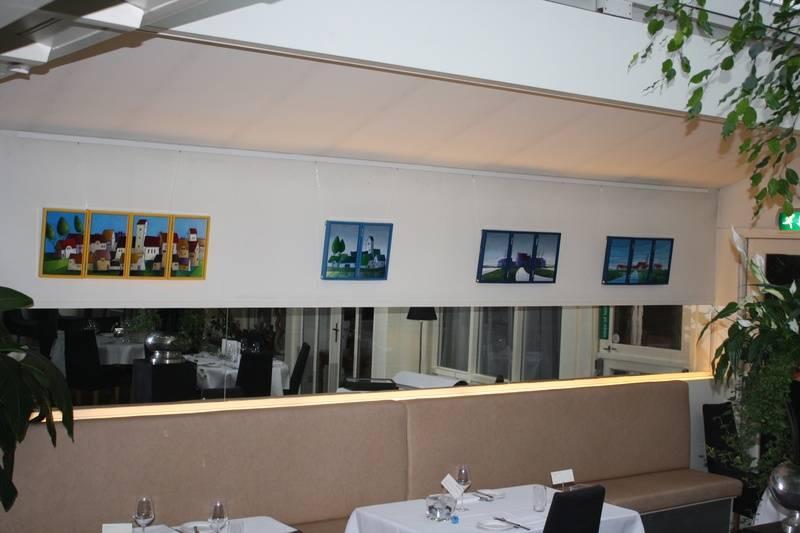 Twee, drie en vierluik bij restaurant Les Jumeaux in Bennebroek