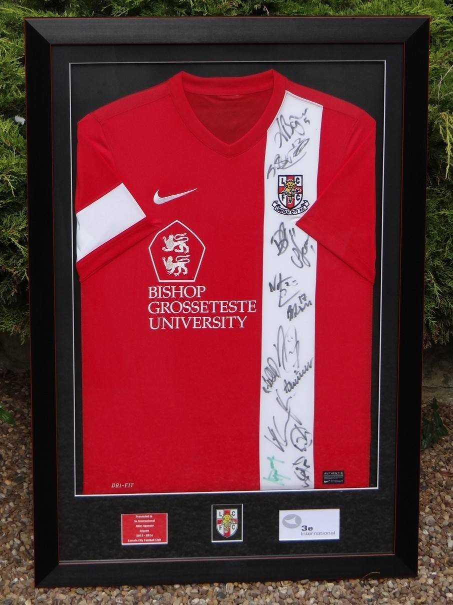 Signed Lincoln City shirt