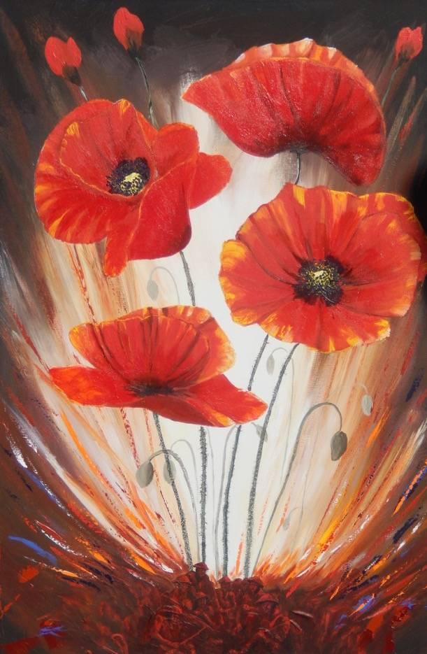 ...through poppies grow ...