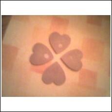 4 Heart Wax Tart Melts