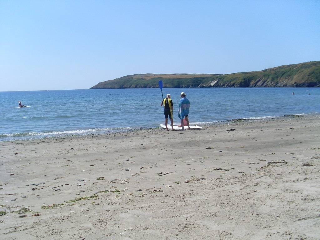 Aberdaron beach.