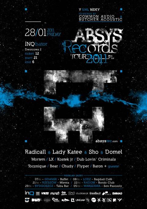 2011.01.28 - Inqbator - Katowice - Absys Records Tour 2011