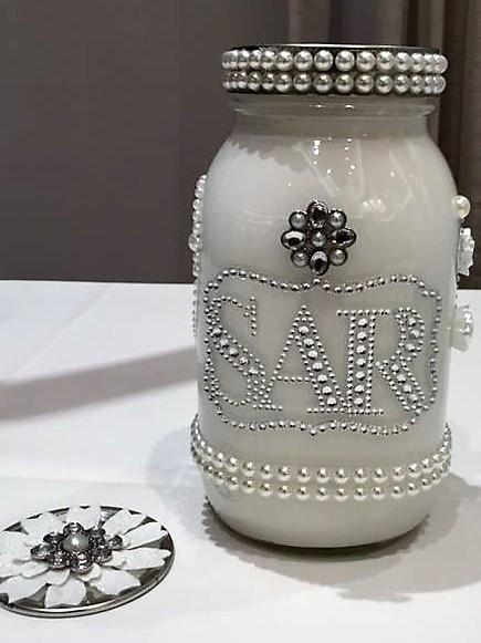 Personalized Maso Jar