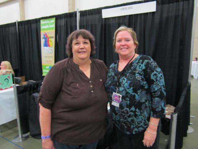 Sandy Sullivan and I