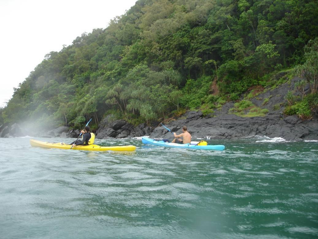 Queensland sea kayaking