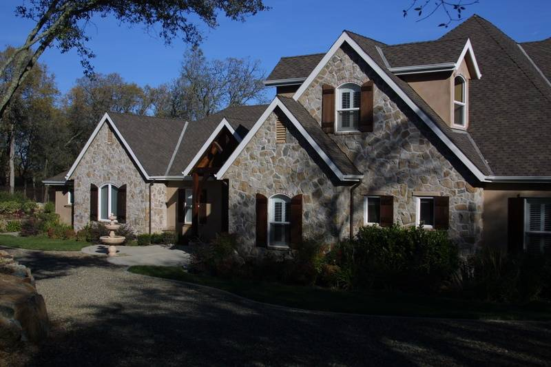 Exterior Painting - Gables