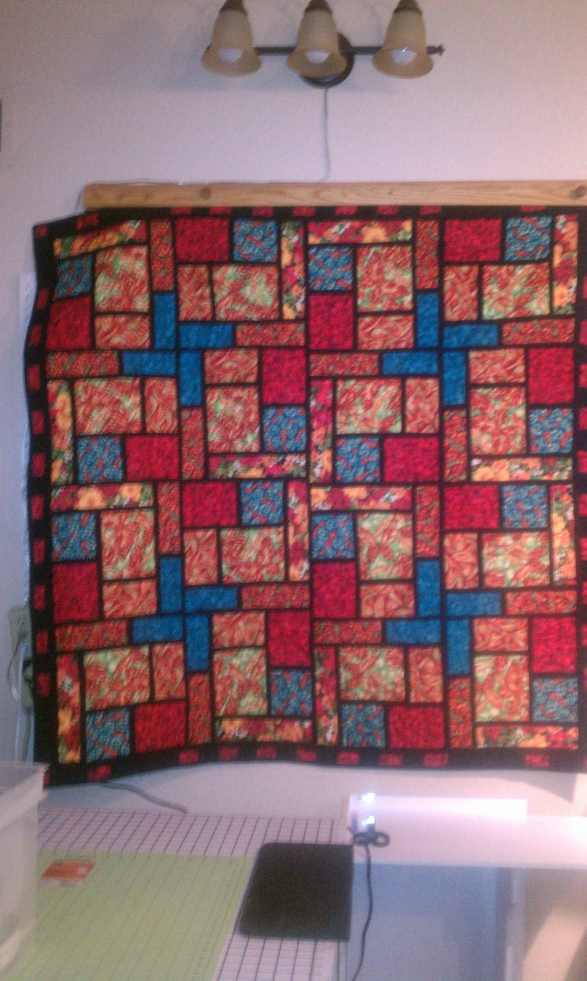 Light Fantastic quilt
