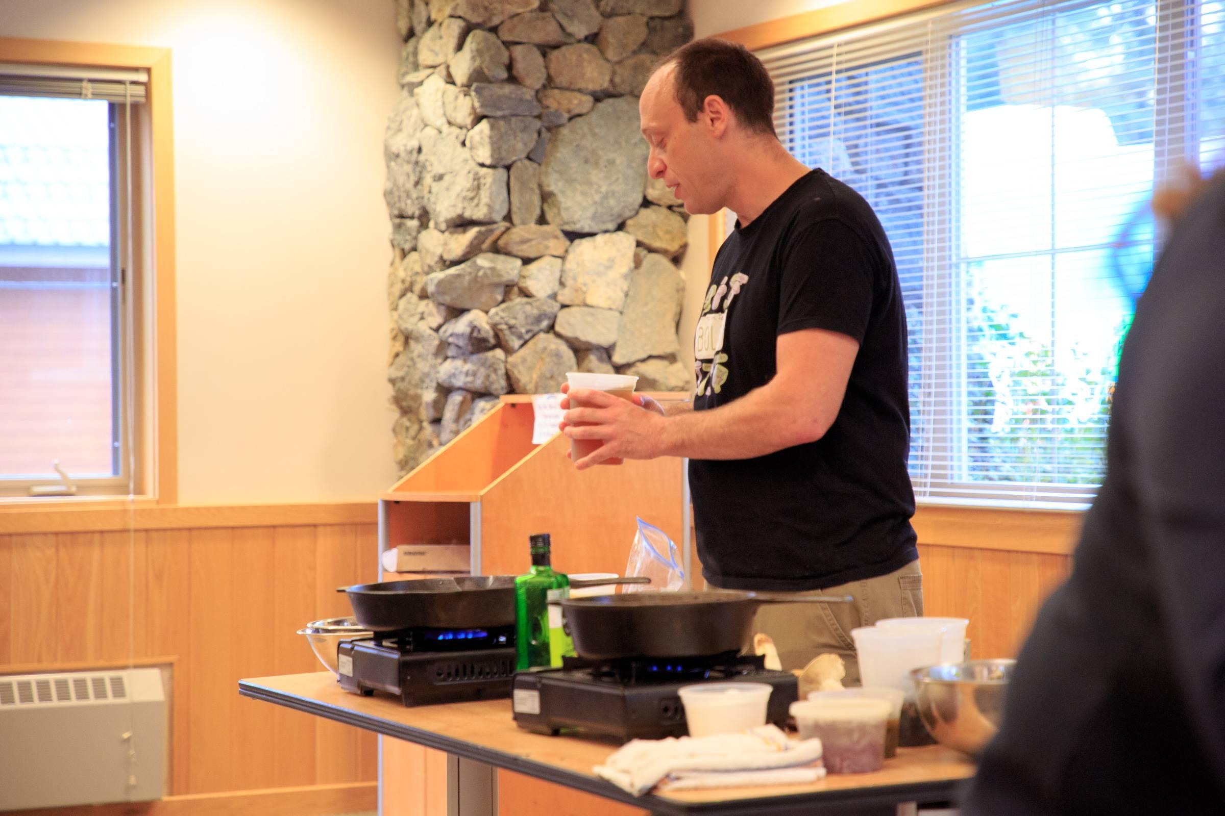Chad Hyatt Cooking Demo
