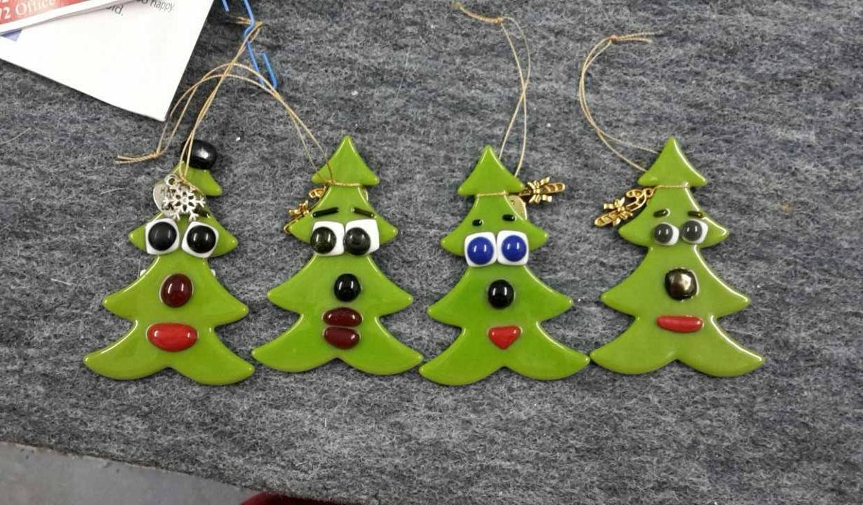 Christmas Tree Comic Decorations