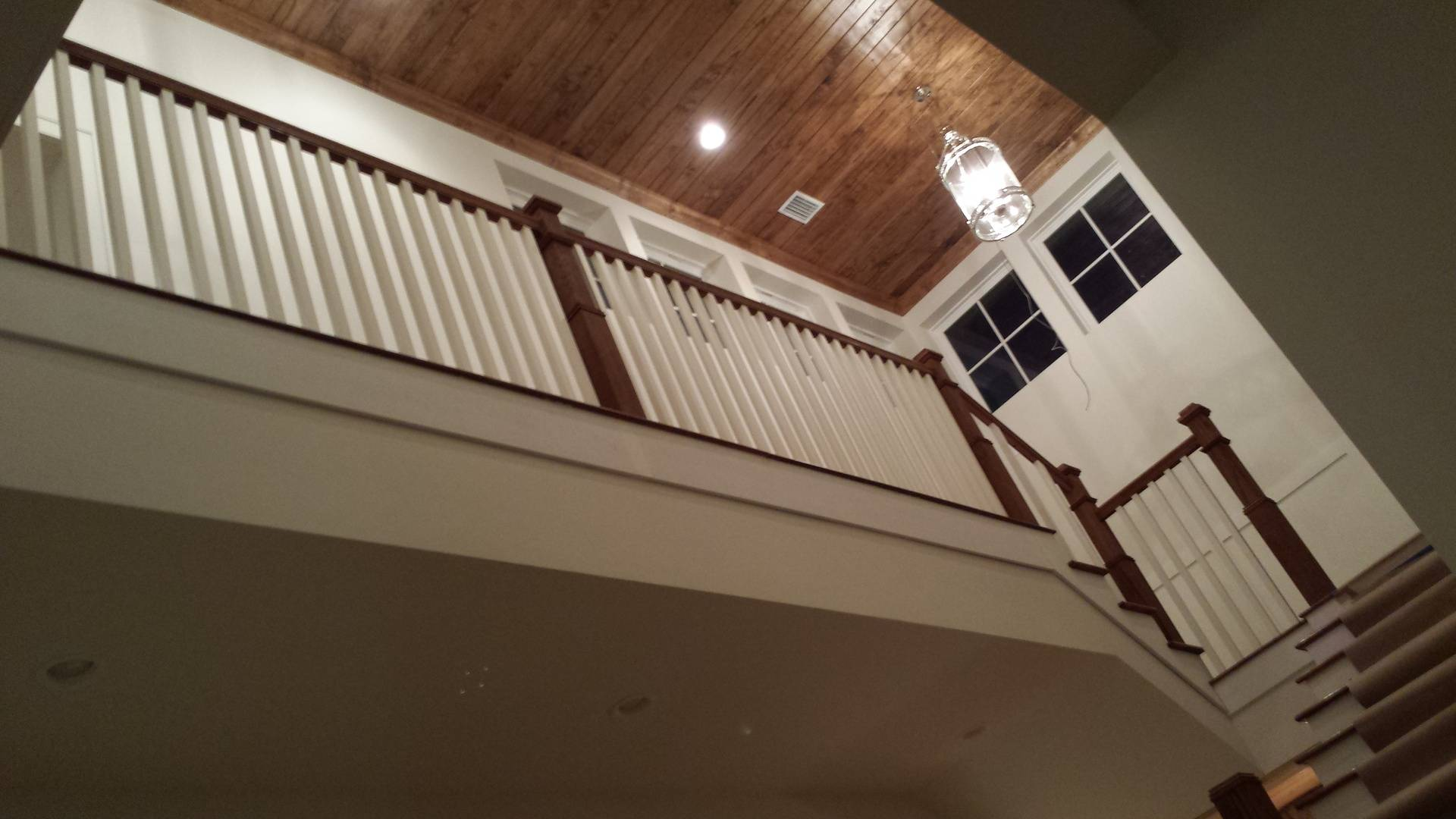 Ceiling and Stairs