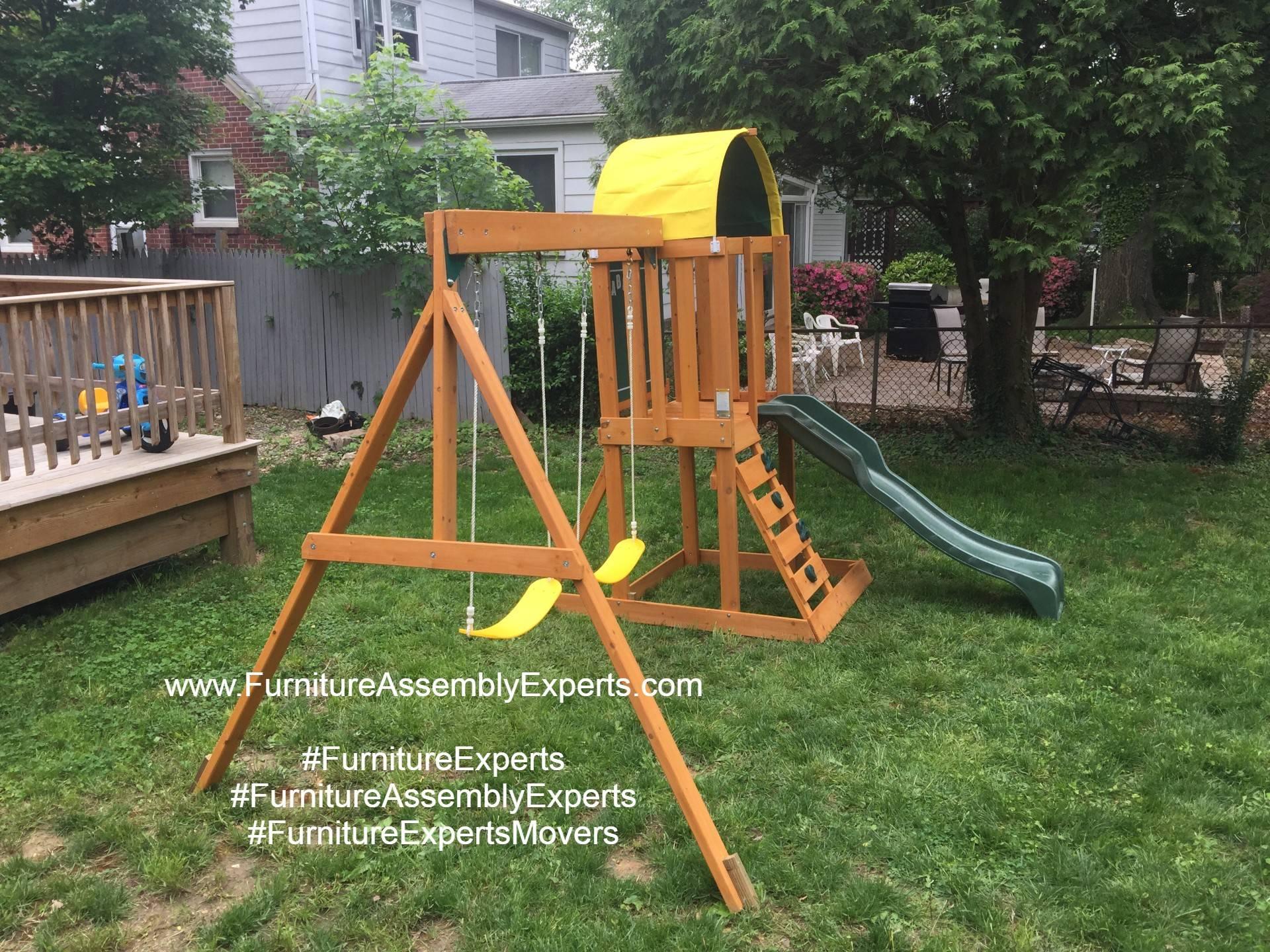 swing set installers in hanover MD