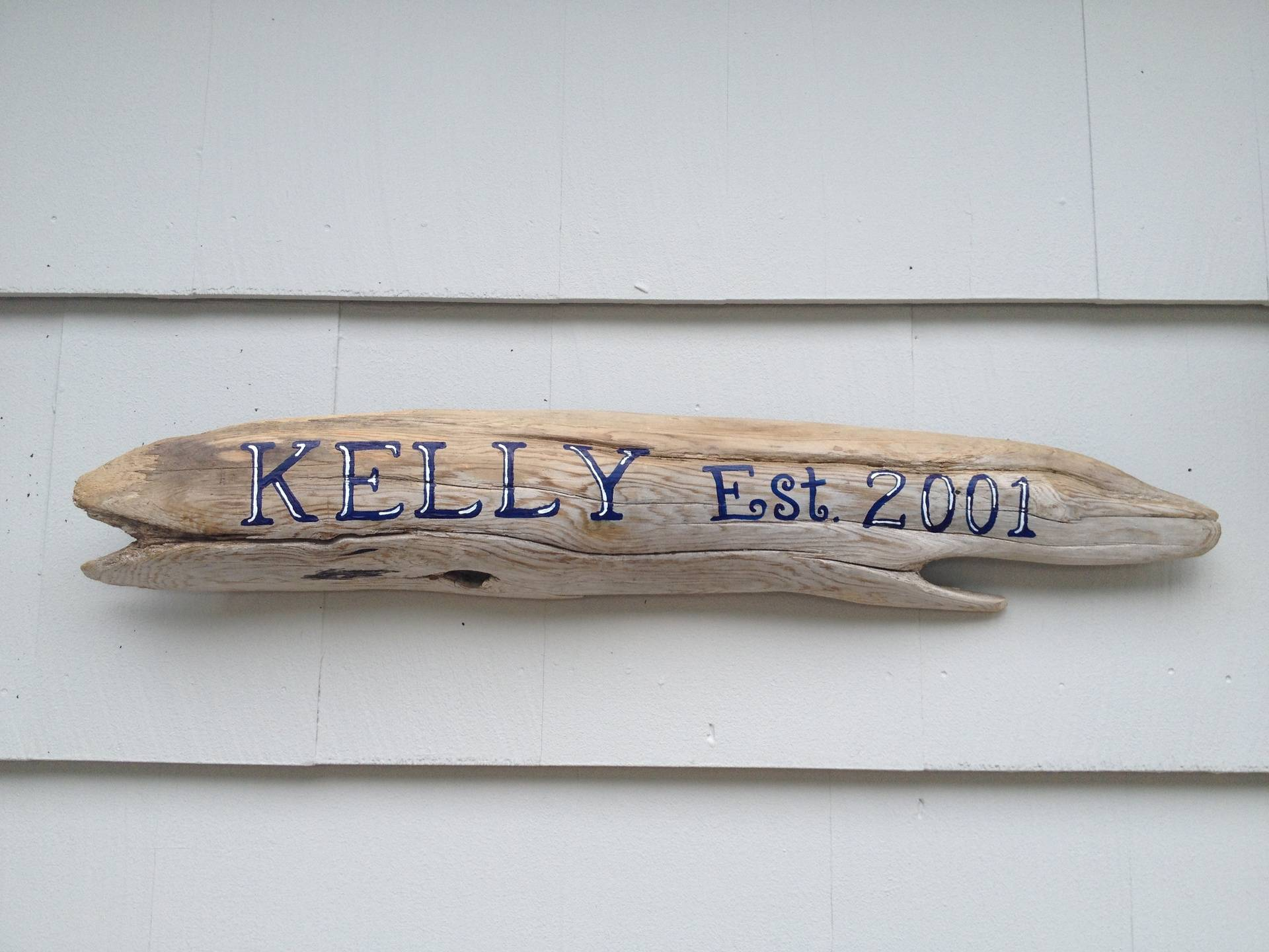 Driftwood House sign