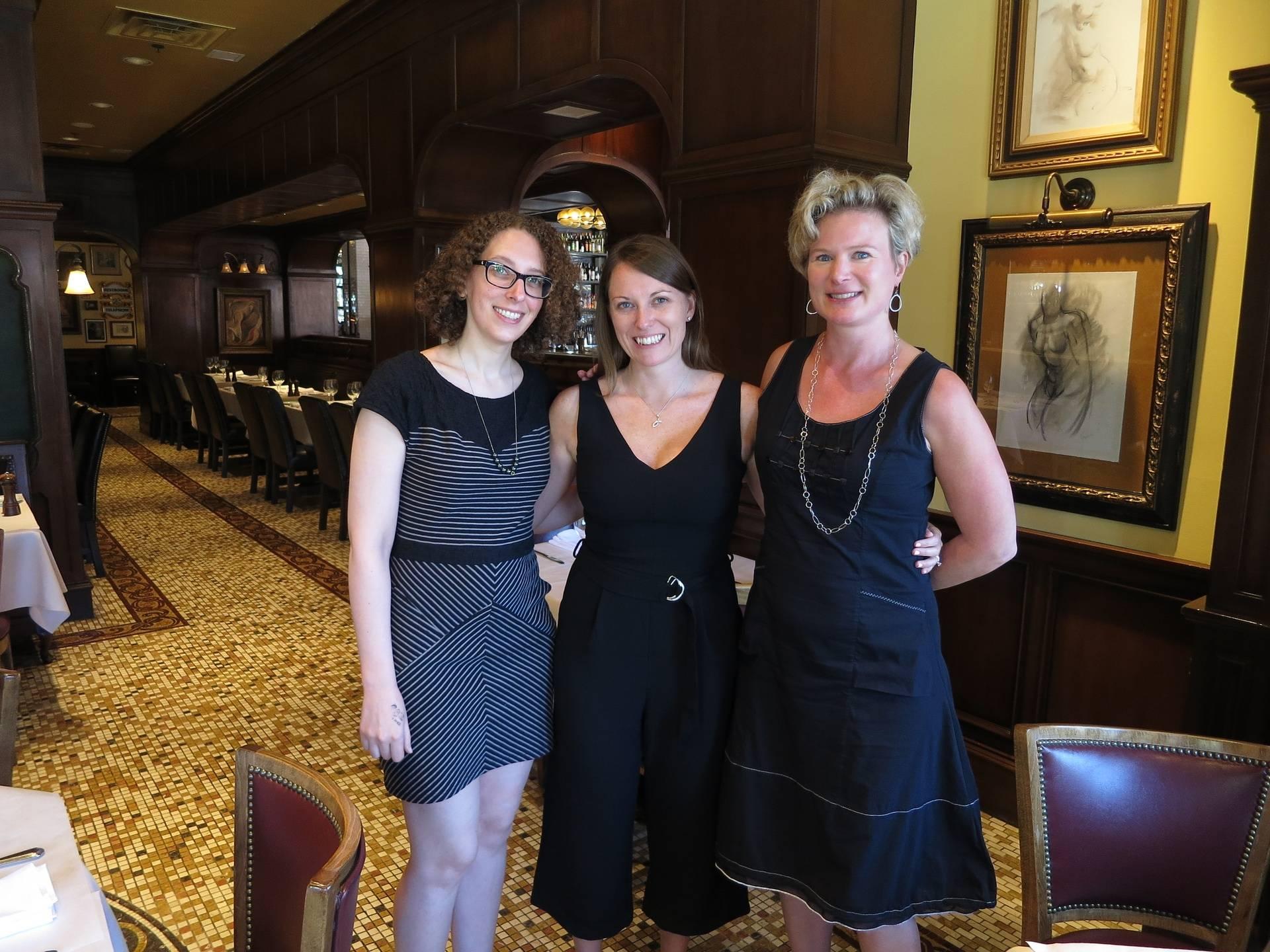 With Blaze Editors, Kathleen & Dana!