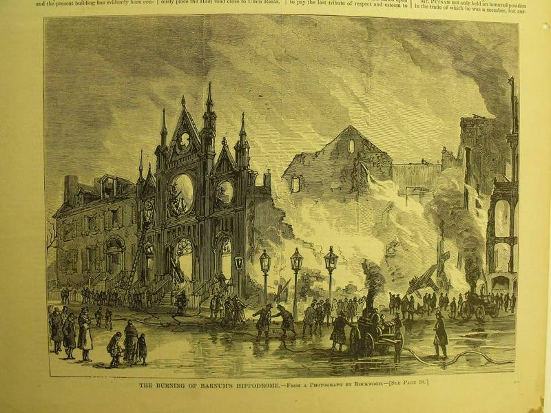 The Hippodrome Burns