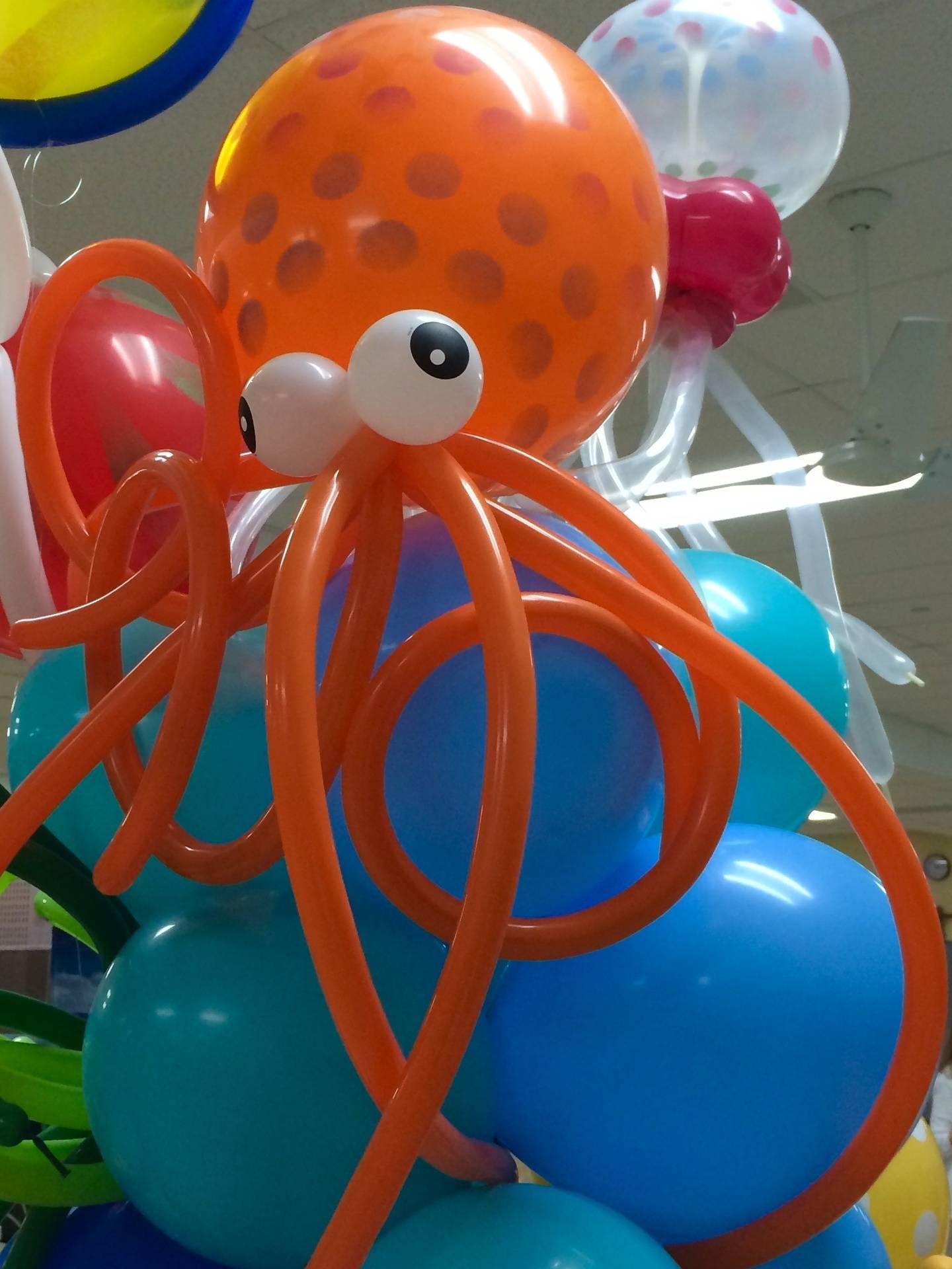 Octopus Balloon Sculpture
