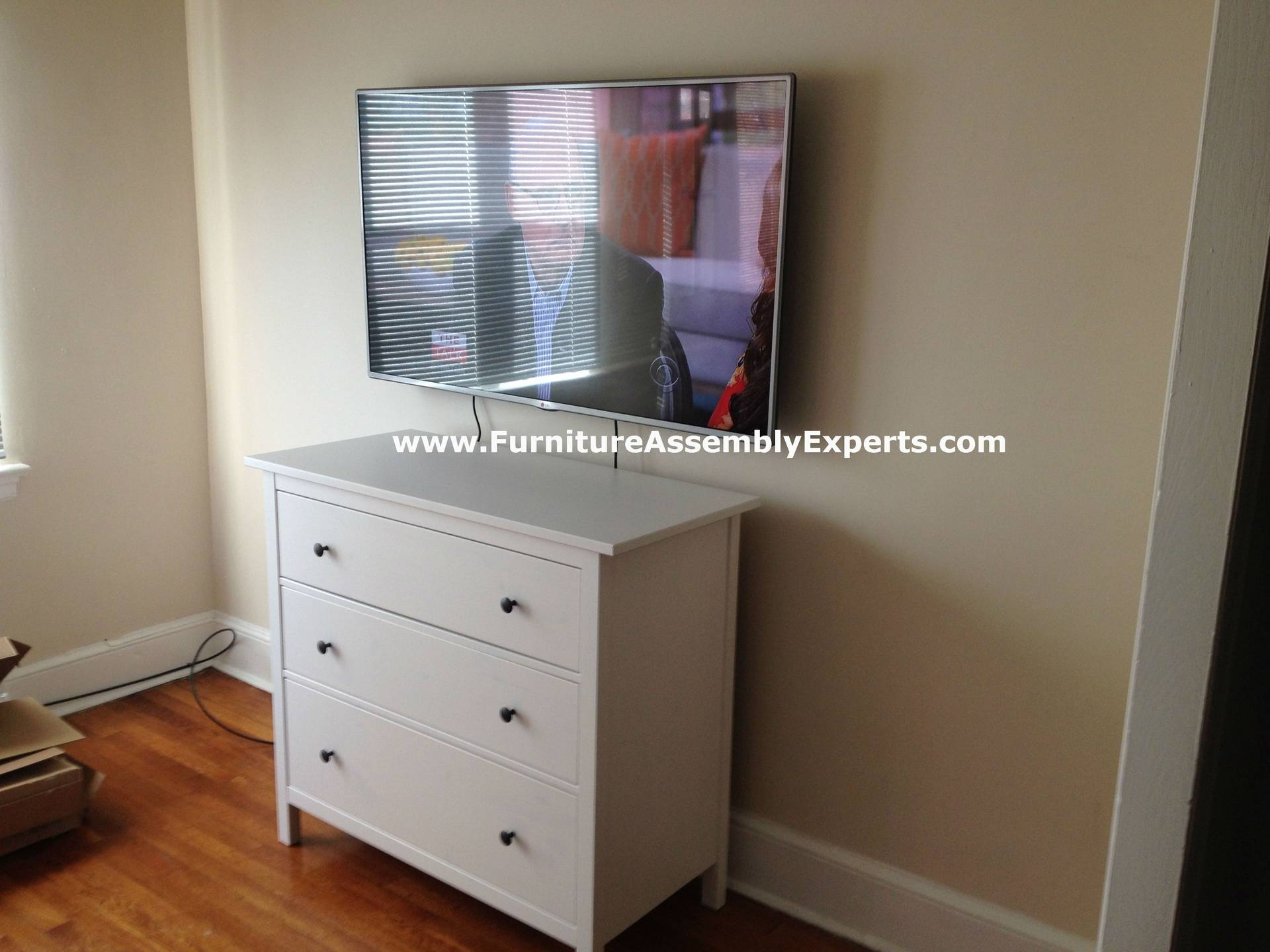 TV wall installation service in new carrollton MD