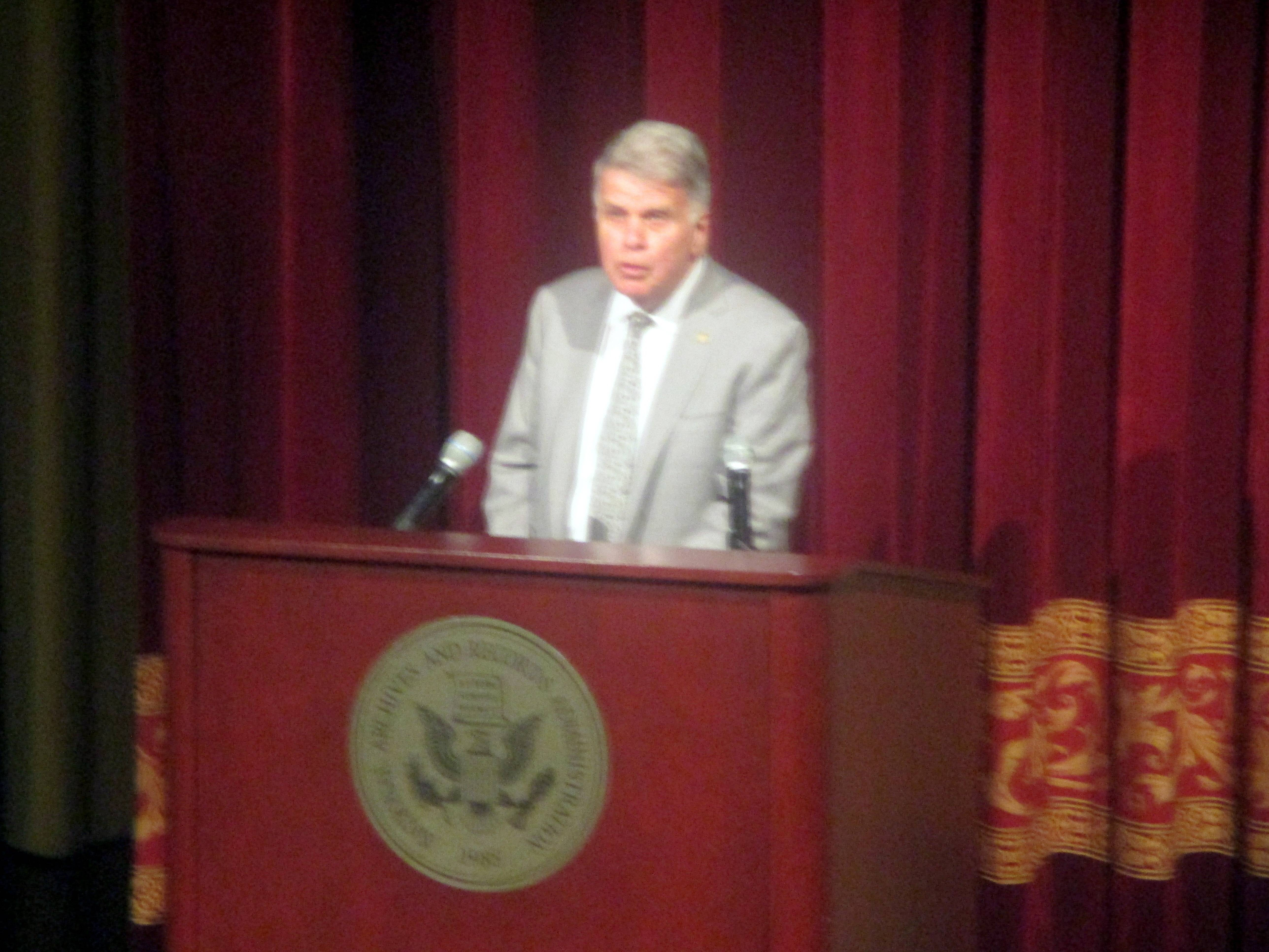 David Ferriero at Beyond Charlottesville at National Archives and Records Administration