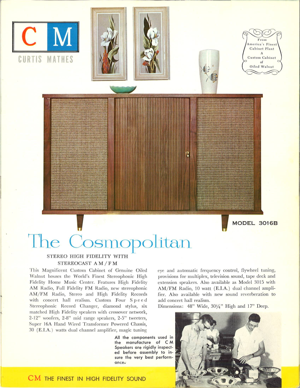 The Cosmopolitan Model 3016B