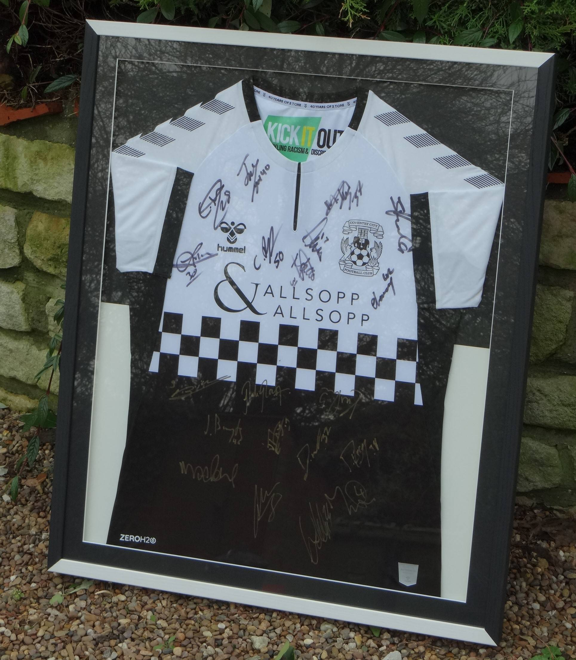 Coventry City 2-Tone shirt.