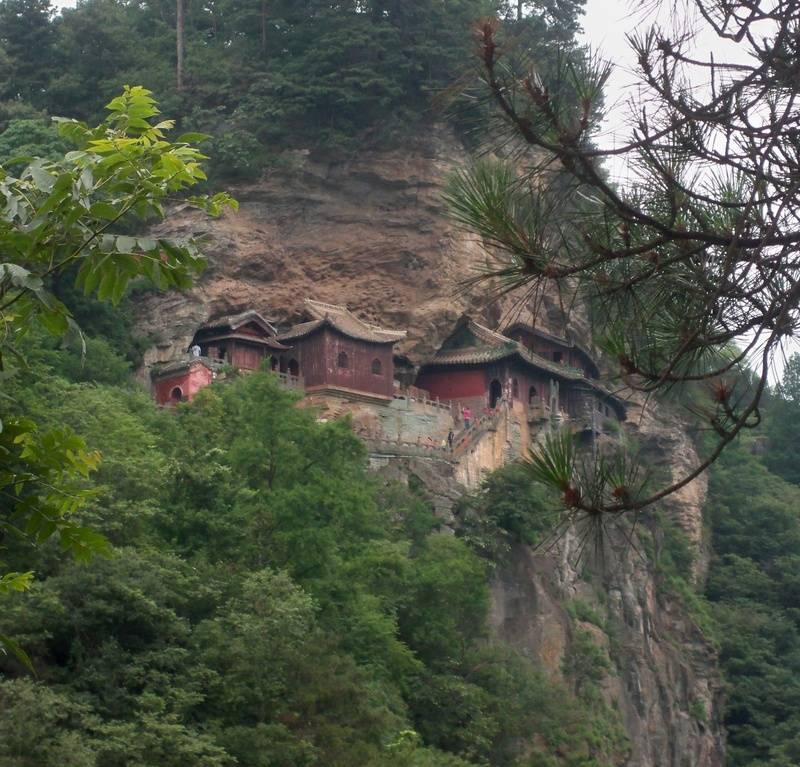 Another view of Tianyi Stone temple