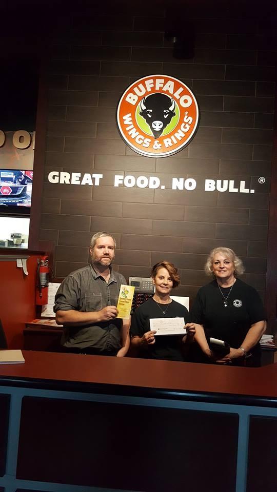 Buffalo Wings and Rings Donation