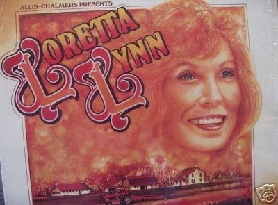 Allis Chalmers Presents Loretta Lynn APRIL 14TH 1978