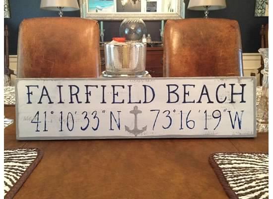 Fairfield Beach w/ anchor