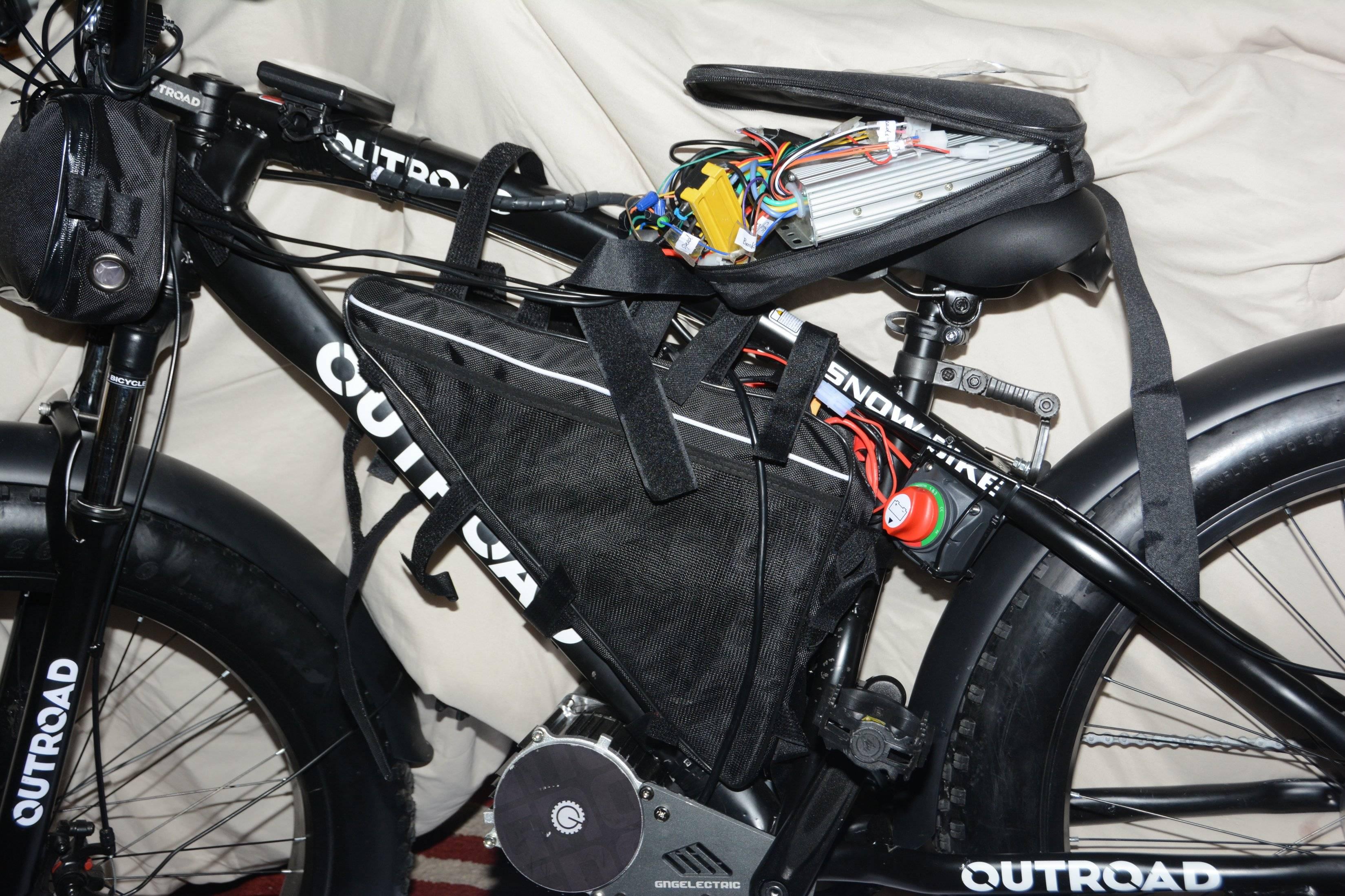 Alan's fat bike from USA , cool!