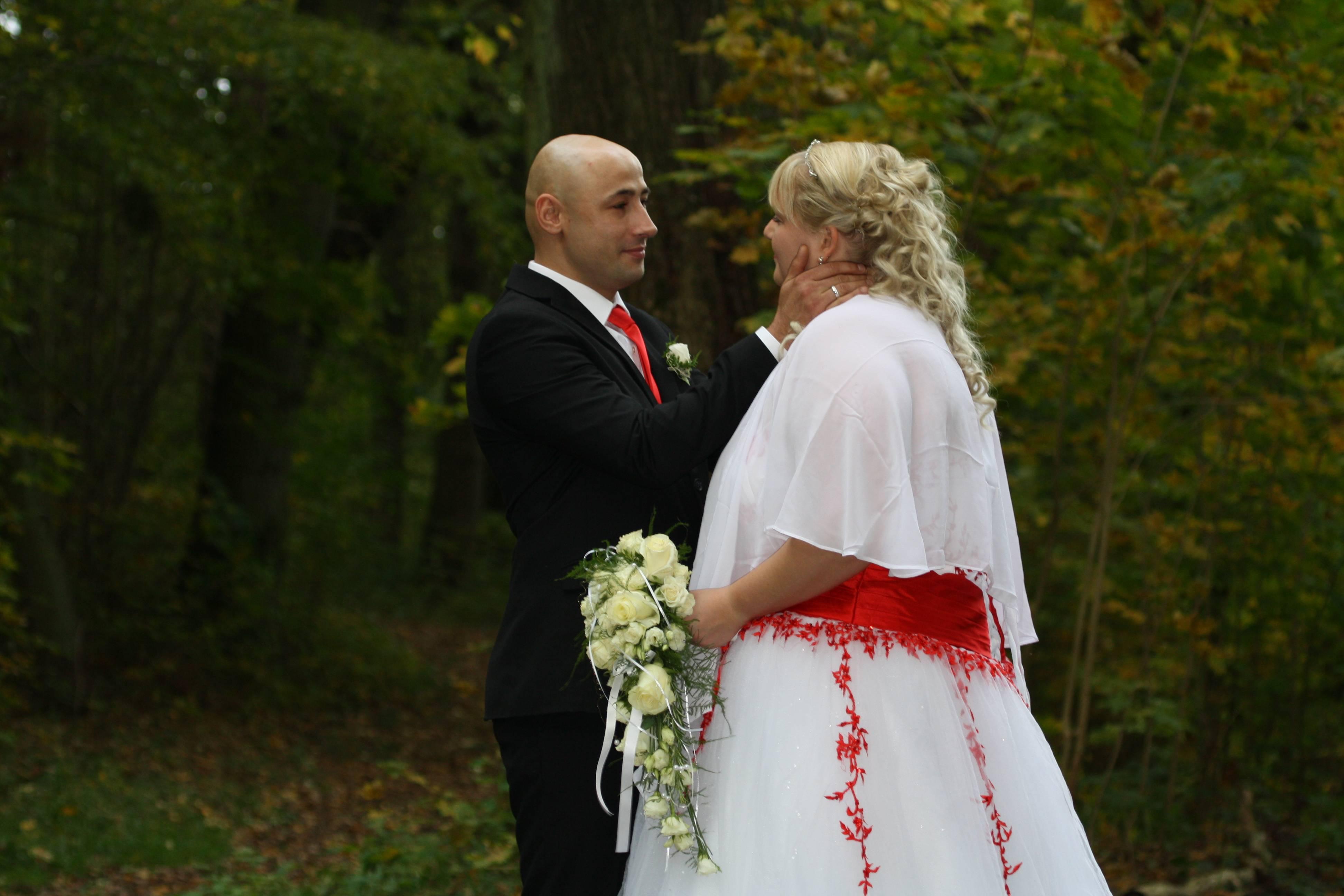 Ja, wir sind jetzt Mann und Frau
